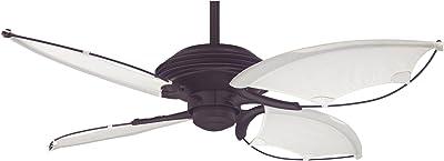 Hunter 21191 54-Inch Beachside Ceiling Fan, New Bronze