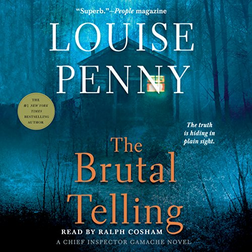 The Brutal Telling audiobook cover art