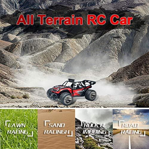 RC Auto kaufen Monstertruck Bild 5: joylink Elektro RC Auto 1:16 RC Autorennwagen Offroad 2WD 2.4GHz Ferngesteuertes Auto Hochgeschwindigkeits RTR RC Buggy RC Monster Truck mit Akku (1512)*