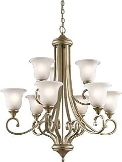 kichler gold chandelier