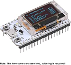 MakerHawk ESP32 WiFi Placa de Desarrollo con 0.96 Pulgadas Pantalla OLED WiFi Kit32 Arduino Compatible CP2012 para Arduino Nodemcu