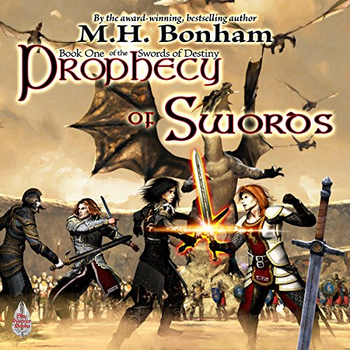 Prophecy of Swords audiobook cover art
