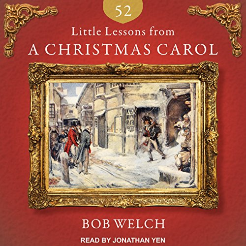 52 Little Lessons from A Christmas Carol audiobook cover art