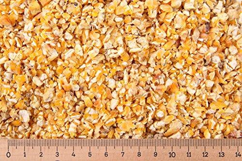 25 kg Mais gebrochen - Hühnerfutter - Taubenfutter - Nager - Schwarzwild - Angelköder