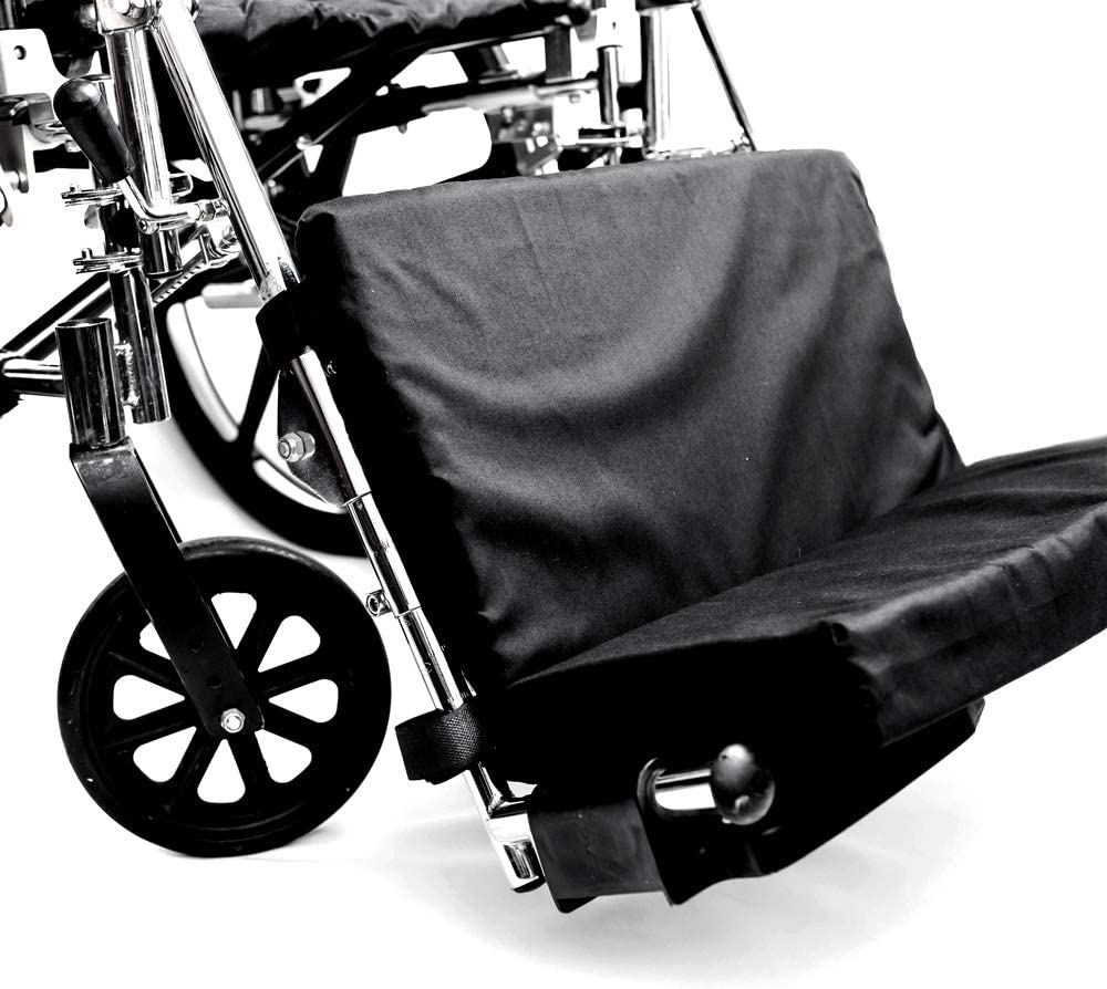 Manufacturer OFFicial Elegant shop Hermell Products WC2218 Padded Wheelchair Foot Count Rest Pa 1