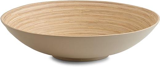 Tortora Zeller 25141/ciotola rotonda in bamb/ù colore