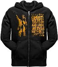 Bob Marley - Mens Eyes Zip Up Hoodie