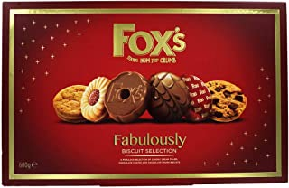 fabulously fox's biscuit selection 600g