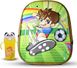 Tinytot School Bag Backpack with Water Bottle for Play School Nursery Kids, Age 2 to 5 for Boys, Capacity 7 Litre