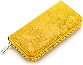 (アメルトン)Amerton レディース 花柄 長財布 ロングウォレット 小銭入れ レザー 革 大容量 可愛い