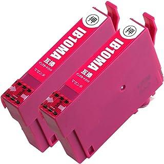 IB10-MA 2本 エプソン用インクカートリッジ 互換インク (最新ICチップ搭載/残量検知対応/デジタル説明書付き(QR)) カードケース IB10-MA 【PAI MU TAN製】日本国内検品済み 対応機種:EW-M530F