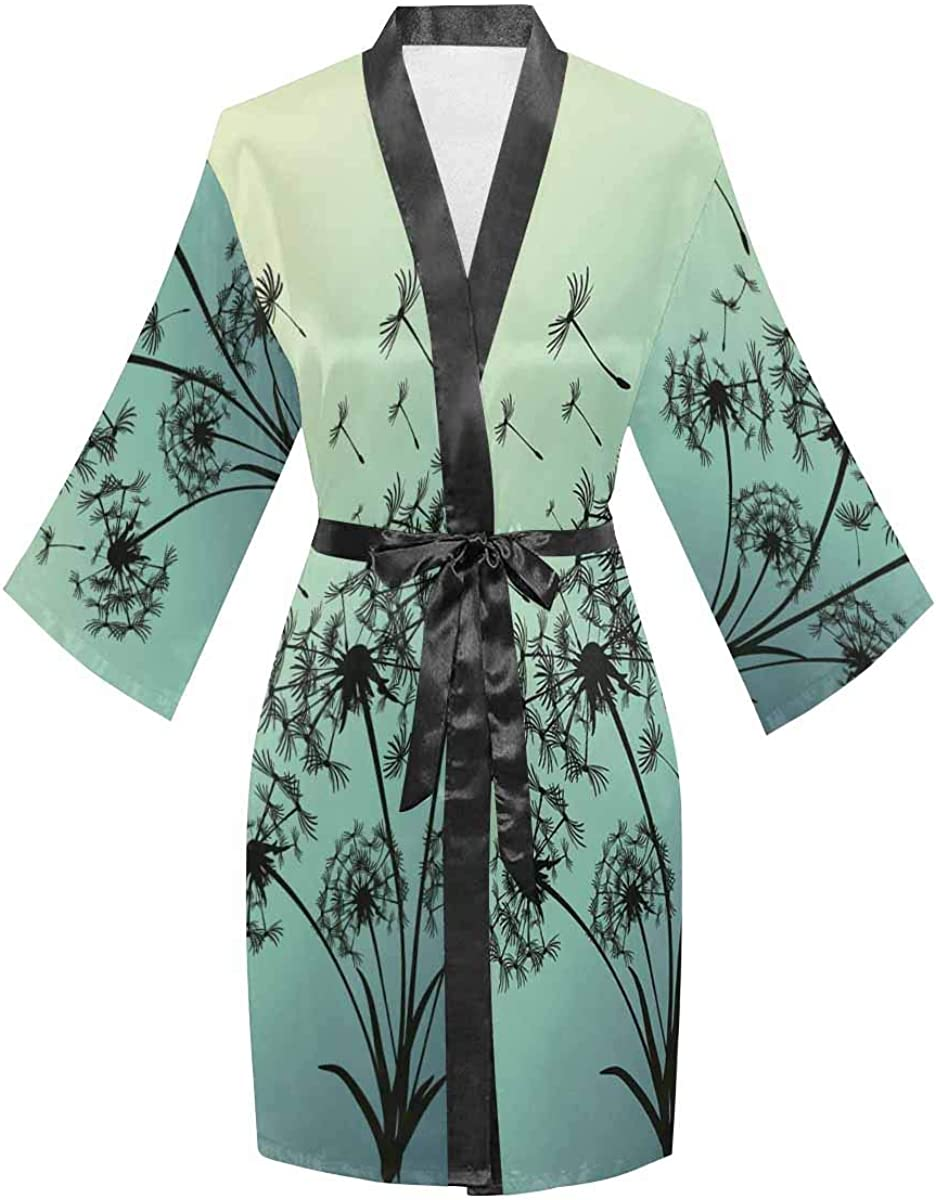 gift InterestPrint Gorgeous Women's Long Sleeve Loose Beach Fit Kimon Japanese
