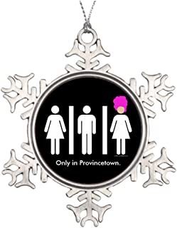 Huky Ideas For Decorating Christmas Trees Women. Men. Drag Queens. Halloween Snowflake Ornaments