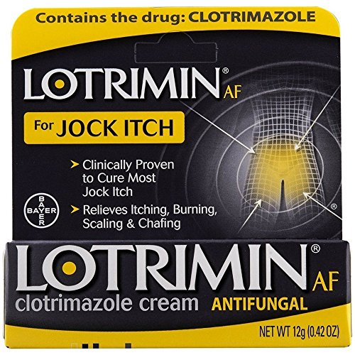 Lotrimin AF Antifungal Cream, Jock Itch - 0.42 oz, Pack of 6