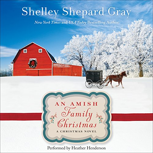 An Amish Family Christmas audiobook cover art