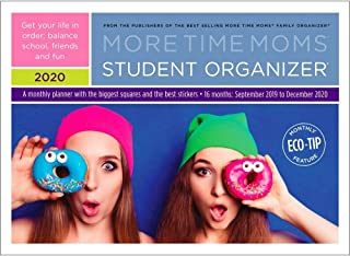 2020 Student Organizer Wall Calendar, by More Time Moms