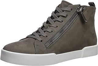 Kenneth Cole New York Womens KLF8048NU Tyler Midtop Zip Sneaker Grey Size: 7.5 US / 7.5 AU