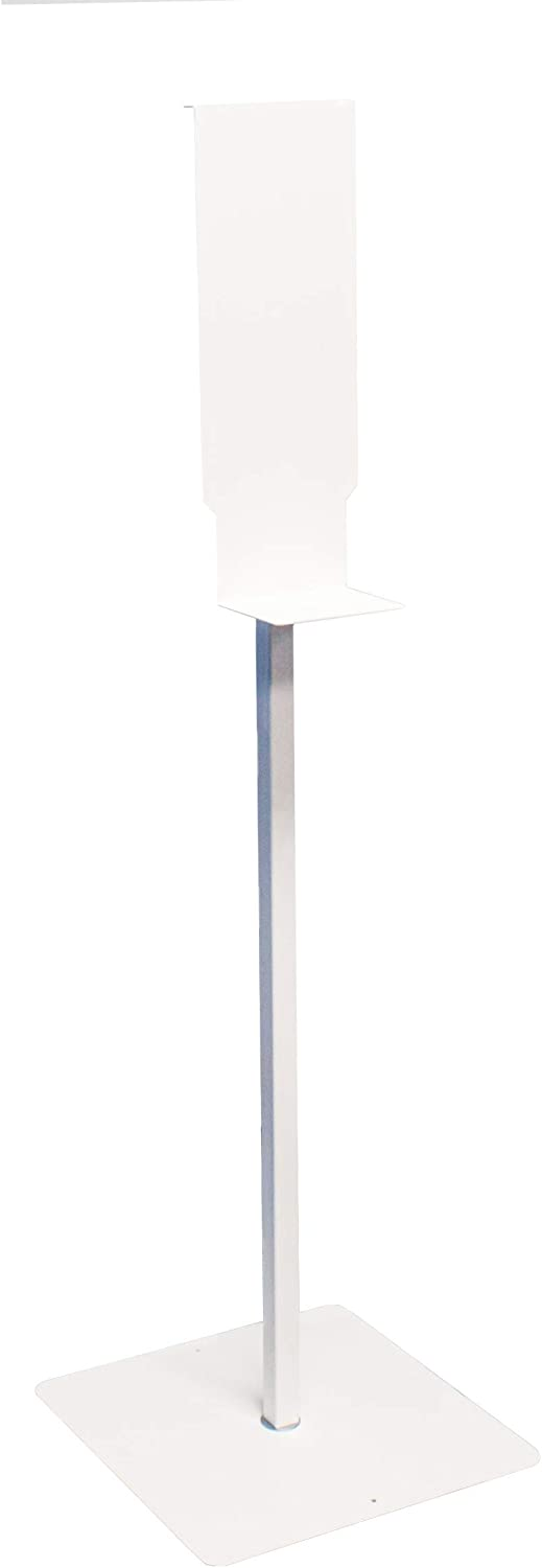 Palmer Fixture Beauty products half SF0320-17 Sanitizer Stand White Floor
