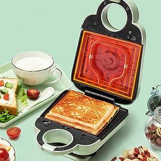 AJH Sandwich Toastie Maker avec Machine à Petit Déjeuner Maison Détachable, Facile à Nettoyer, Chauffage Double Face, Sand...