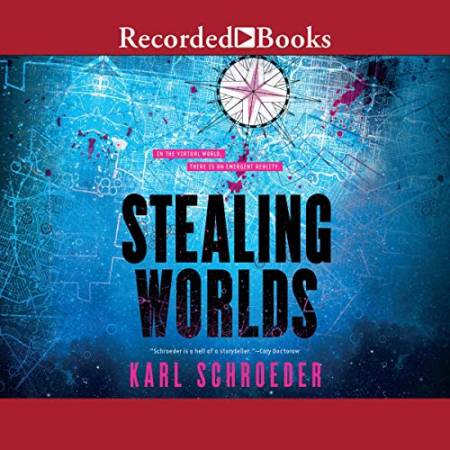 Stealing Worlds audiobook cover art