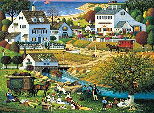 Buffalo Games Charles Wysocki: The Hound of the Baskervilles - 1000 Piece Jigsaw Puzzle by Buffalo Games by Buffalo Games