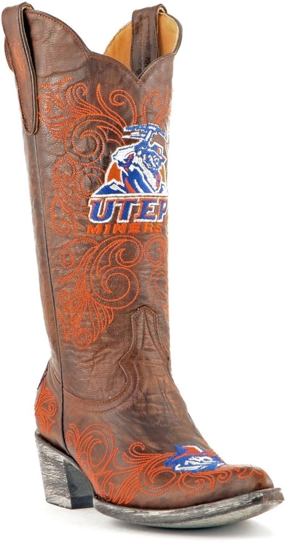 Gameday Stiefel NCAA Texas EL Paso Paso Paso Miners Woherren 13-Inch  a3d891