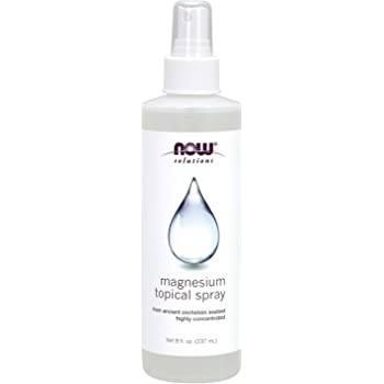NOW Solutions, Magnesium Topical Spray, from the Ancient Zechstein Seabed, Highly Concentrated, 8-Ounce