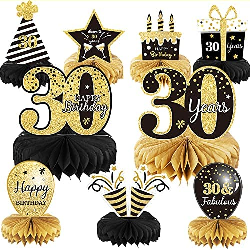 30th birthday table decorations _image1