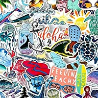 ステッカー 10/30 / 30/50ピース夏のサーフビーチサンシャインボーイおもちゃ落書きスーツケース冷蔵庫スケートボード防水ステッカーデカール 絶妙なステッカー (Color : 30PCS)