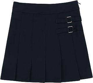 FEESHOW Kids Girl's Classical Tartan Pleated School Uniform Skirt Scooter Skort Mini Skirt