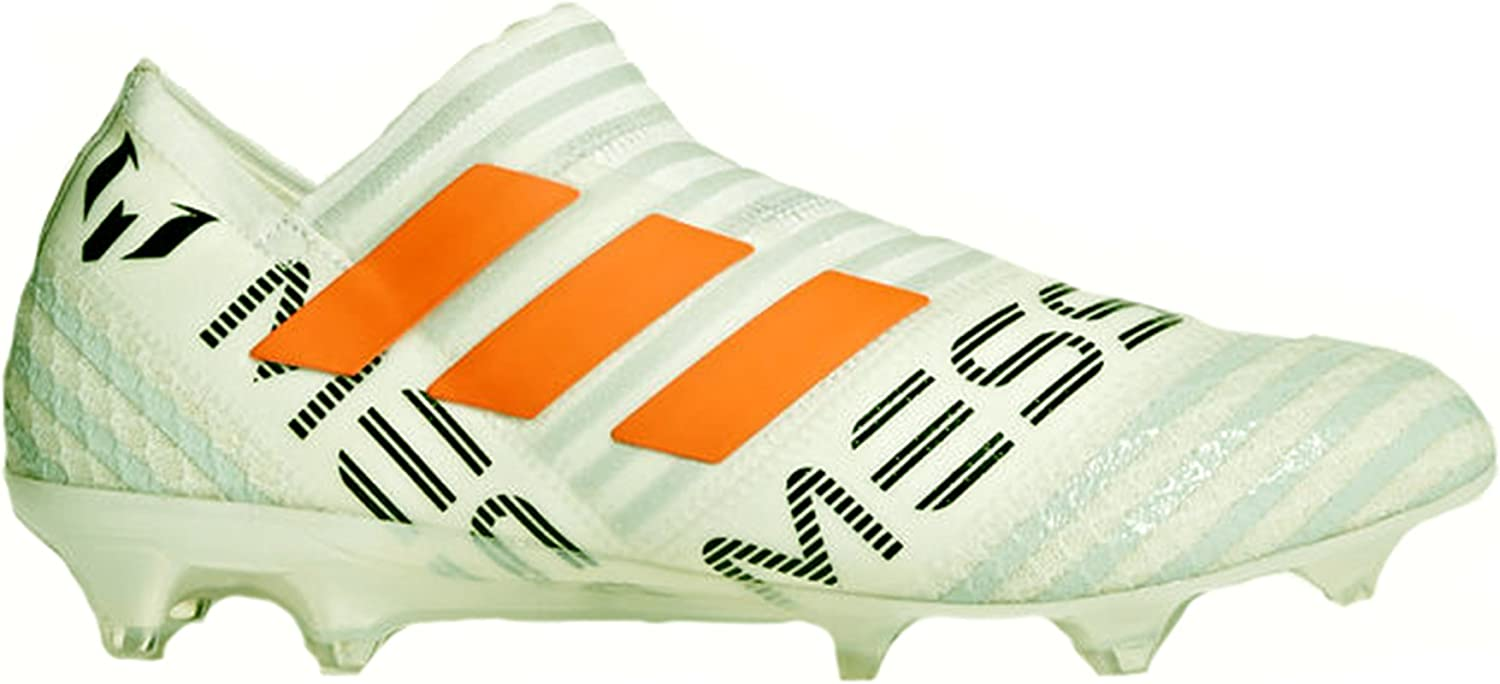 Adidas Nemeziz Messi 17+ Men's Firm Ground Soccer Cleats White Black orange