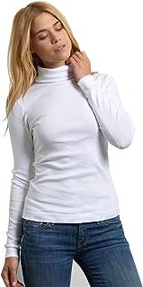 (スリードッツ) three dots タートルネック 長袖 Tシャツ