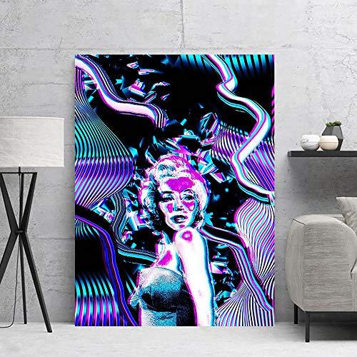 Puzzle 1000 Piezas Pintura de Arte Mujer Creativa en Juguetes y Juegos Gran Ocio vacacional, Juegos interactivos familiares50x75cm(20x30inch)