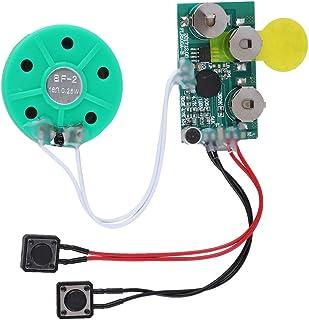 Diyeeni Tarjeta de Felicitación de Bricolaje Chip / 4 Minutos Tarjeta de Felicitación de Voz/Chip de Sonido Grabable para ...