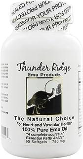 Thunder Ridge Emu Products Emu Oil Gel Caps 90 Gcap