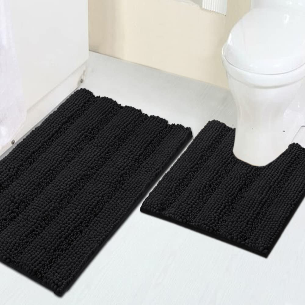Turquoize Bath Award Rugs for Bathroom We OFFer at cheap prices Striped 2 Ma Chenille Sets