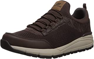 Skechers Men's Volero-Sermon Knitted Slip on Sneaker