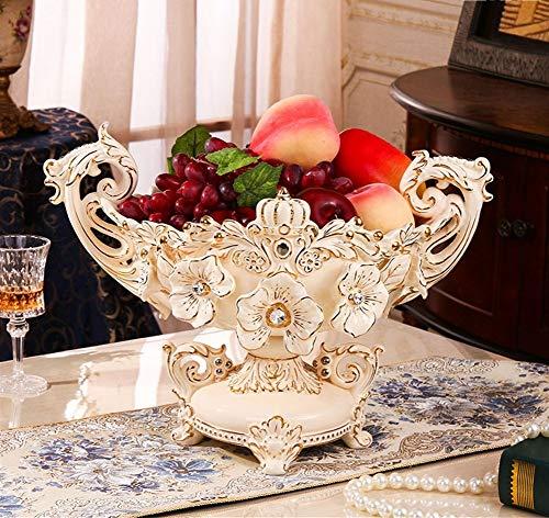Creatieve decoratie Fruitschaal in Europese stijl luxe Scandinavische stijl woninginrichting creatieve persoonlijkheid Living Room mode prachtige aardewerk asbak kleine fruitschaal Multifunctionele Ti