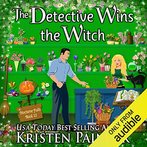 The Detective Wins the Witch audiobook cover art