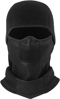 SUNTRADE Black Windproof Balaclava Face Mask for Cycling, Biking, Ski and Snowboard for Men and Women