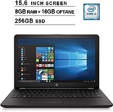 HP 2019 Pavilion Premium 15.6 Inch HD Laptop Computer (8th Gen Intel Core i3-8130U 3.40GHz, 8GB DDR4 RAM + 16GB Optane RAM, 256GB SSD, HD Audio, Bluetooth 4.2, DVD, WiFi, Windows 10 Home)