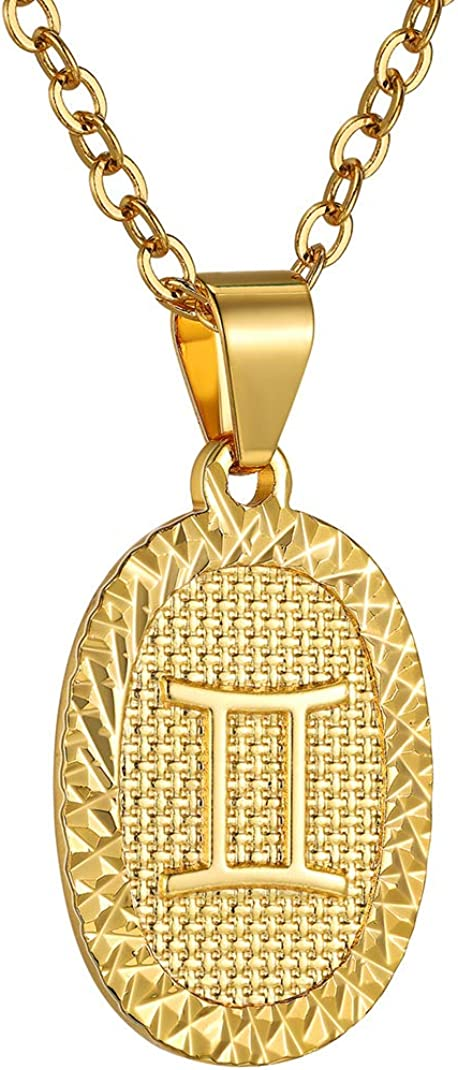 GOLDCHIC JEWELRY Personalized Under blast sales Zodiac Coin Sales Necklace Pendant
