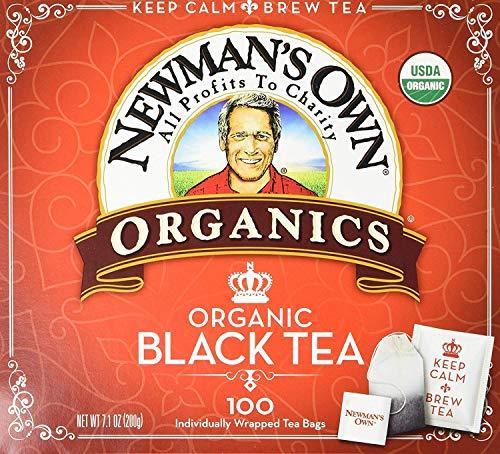 Newman s Own Organic Black Tea - 100 Bags,7.1 OZ.
