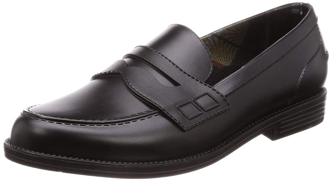 さわやか豊富な迷路[ミレディ] カジュアルレイン レインローファー 通勤通学 長靴 ML851