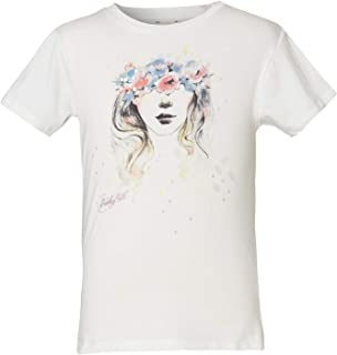 Funky Buddha T-Shirt In Printed Design