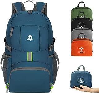 OlarHike Lightweight Packable Durable Hiking Travel Backpack for Men Women