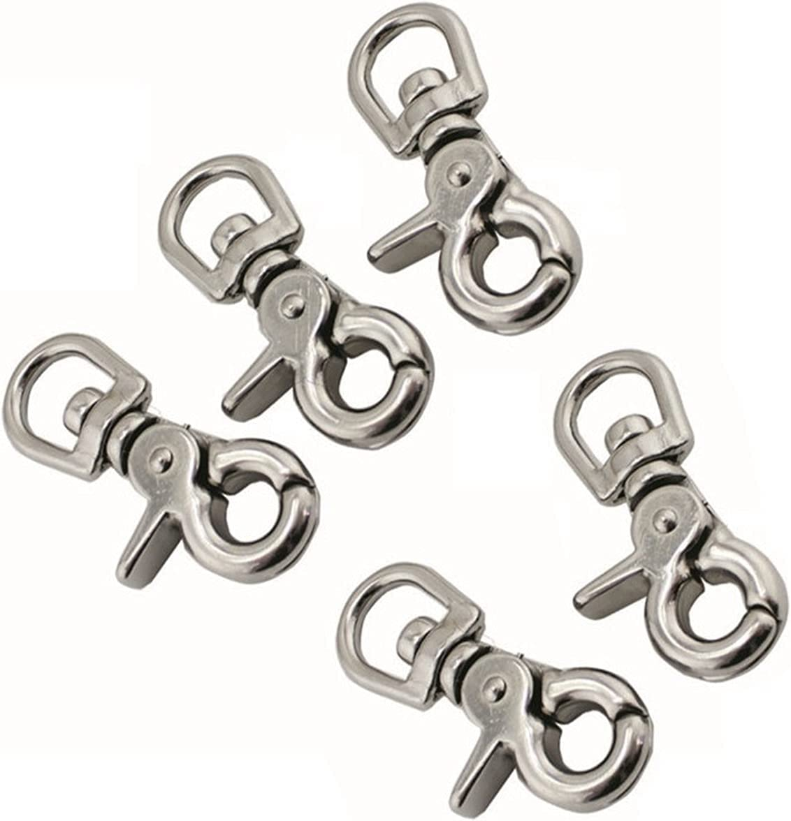 YDSHOLL 5PCS Stainless Steel 316 Max 42% OFF Trigger latest Spring Swivel Snap Eye