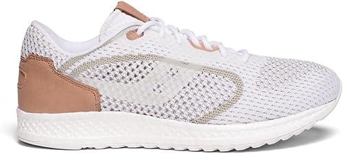 Saucony , Chaussures de Running pour Homme Blanc Blanc 45 EU