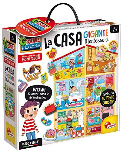 Lisciani Giochi- Montessori La Casa Gigante Gioco Educativo Prescolari, Multicolore, 85644