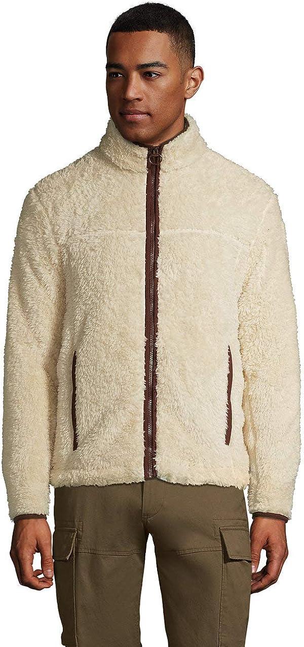 Lands' End Men's Sherpa Fleece Jacket